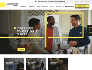 servicemaster-dcs.com screenshot