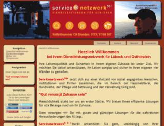 servicenetzwerk55plus.de screenshot