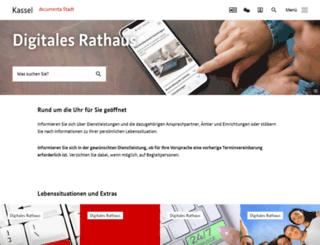 serviceportal-kassel.de screenshot
