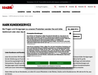 serviceportal.hark.de screenshot