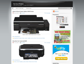 serviceprinter.wordpress.com screenshot