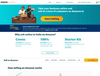services.amazon.in screenshot