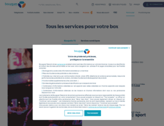 services.bouyguestelecom.fr screenshot
