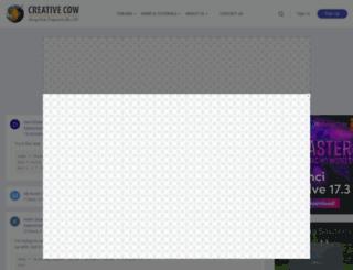 services.creativecow.net screenshot