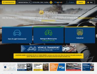 services.manheimfowles.com.au screenshot