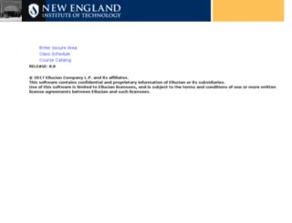 services.neit.edu screenshot