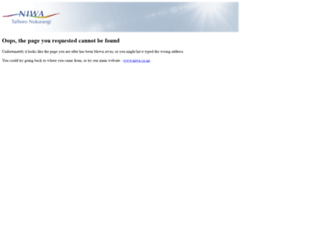 services.niwa.co.nz screenshot