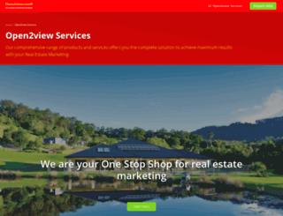 services.open2view.com screenshot
