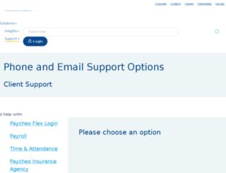 services.paychex.com screenshot
