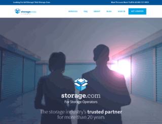 services.storage.com screenshot
