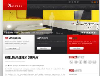 services.xotels.com screenshot