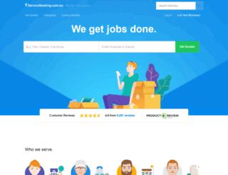 serviceseeking.com.au screenshot