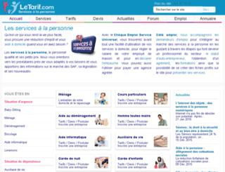 servicespersonne.fr screenshot