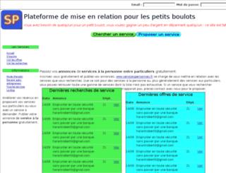 servicespersonnes.fr screenshot