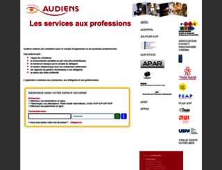 servicespro.audiens.org screenshot