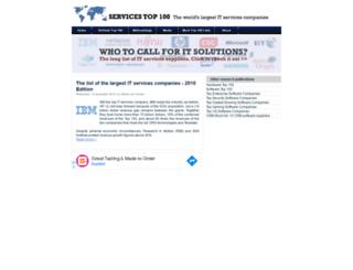 servicestop100.org screenshot