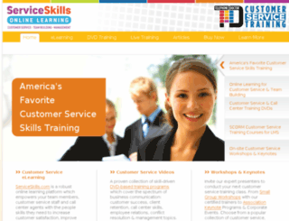 servicetraining.com screenshot