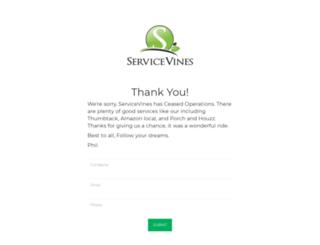servicevines.com screenshot