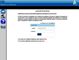 servicio-social.upn.mx screenshot