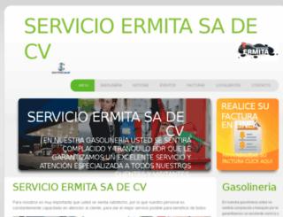 servicioermita.com screenshot