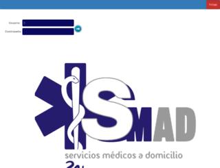 serviciomedicoadomicilio.com screenshot