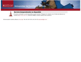 serviciond.uclm.es screenshot