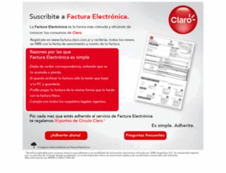 servicios.claroargentina.com screenshot