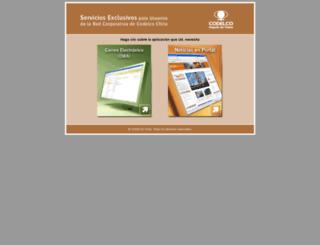 servicios.codelco.cl screenshot