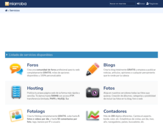servicios.miarroba.es screenshot