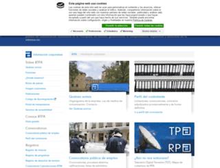 servicios.rtpa.es screenshot
