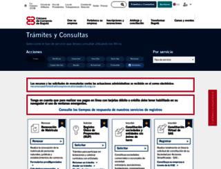 serviciosenlinea.ccb.org.co screenshot