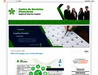 serviciosfinancierosena.blogspot.com.co screenshot