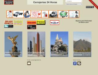 serviciosurgentes.mx screenshot