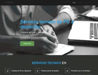 serviciotecnicodepc.com screenshot