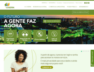 servicos.cosern.com.br screenshot