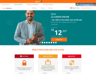 servicos.terra.com.br screenshot