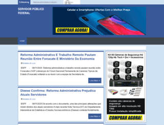 servidorpblicofederal.blogspot.com.br screenshot