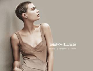 servilles.co.nz screenshot