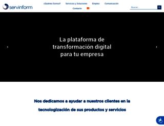 servinform.es screenshot