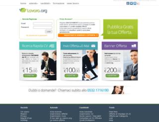 servizi.lavoro.org screenshot