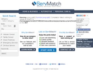 servmatch.com screenshot
