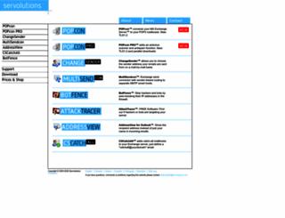 servolutions.com screenshot