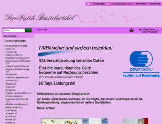 servpatch-bastelshop.de screenshot