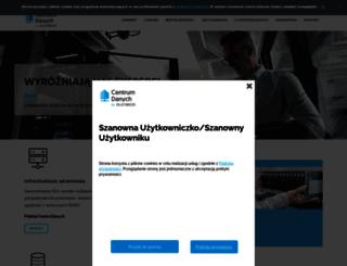 serwery.unizeto.pl screenshot