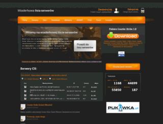 serwery.wiaderko.com screenshot