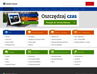 serwis.wolterskluwer.pl screenshot