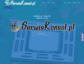 serwiskonsol.pl screenshot