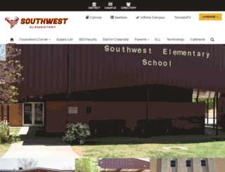 ses.clintonokschools.org screenshot