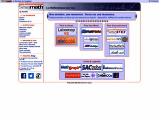 sesamath.net screenshot
