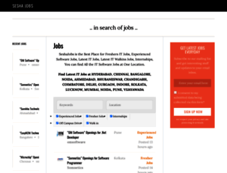 seshajobs.com screenshot